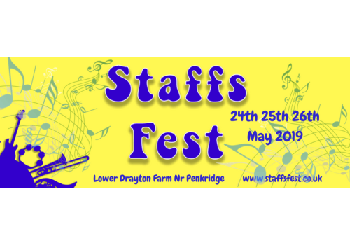 Come along and see our students perform at Staffs Fest this May!